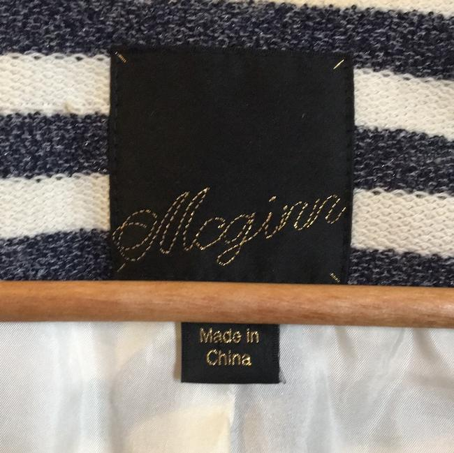 McGinn navy off white striped Jacket Image 5