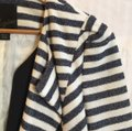 McGinn navy off white striped Jacket Image 6