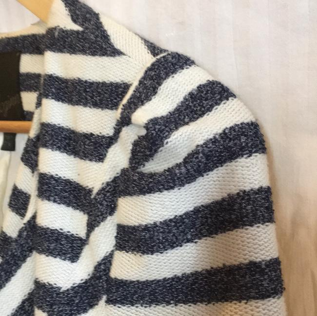 McGinn navy off white striped Jacket Image 7