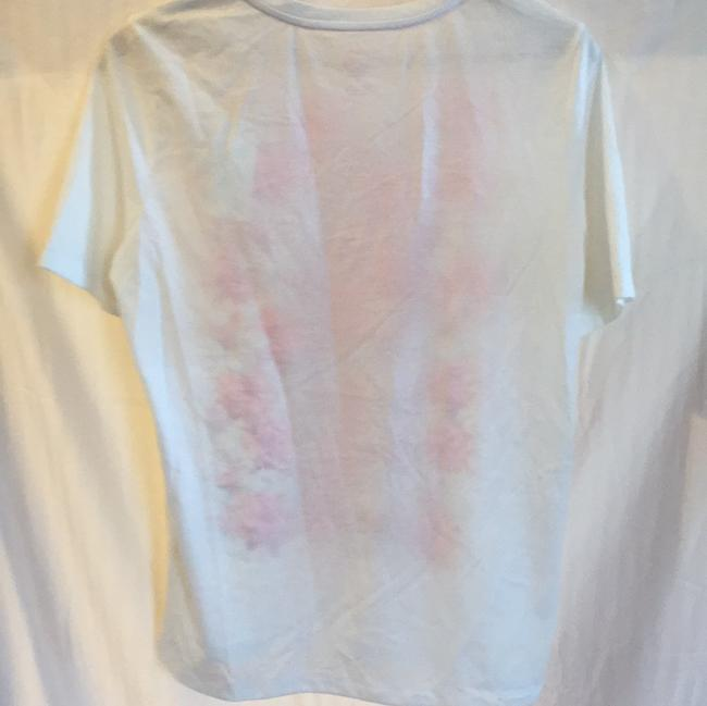Tory Burch T Shirt white, pink floral Image 1