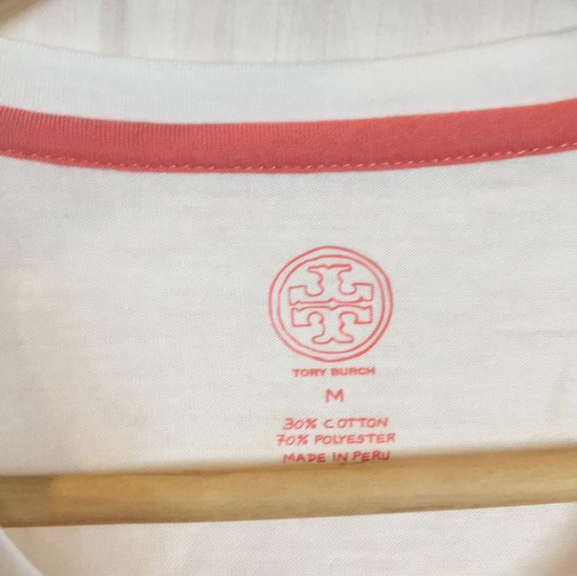 Tory Burch T Shirt white, pink floral Image 2