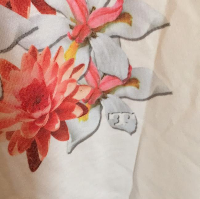 Tory Burch T Shirt white, pink floral Image 4