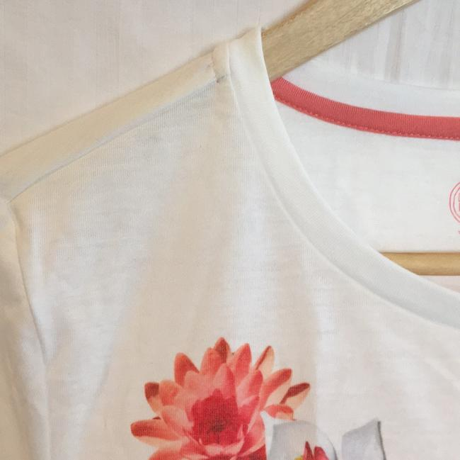 Tory Burch T Shirt white, pink floral Image 6