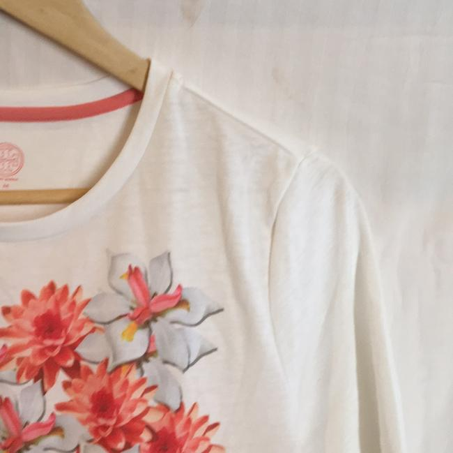 Tory Burch T Shirt white, pink floral Image 7