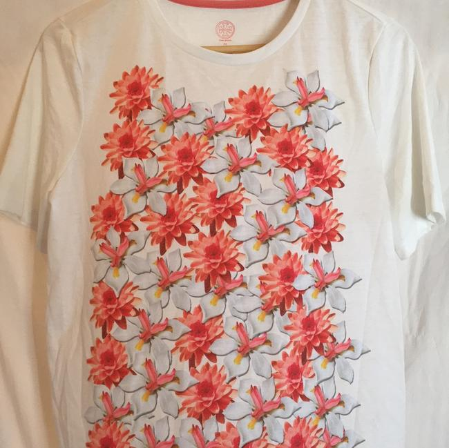 Tory Burch T Shirt white, pink floral Image 8