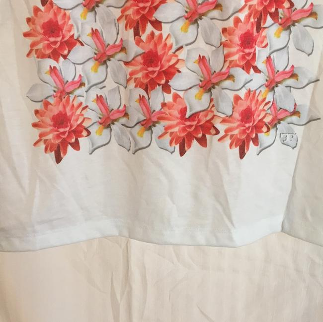 Tory Burch T Shirt white, pink floral Image 9