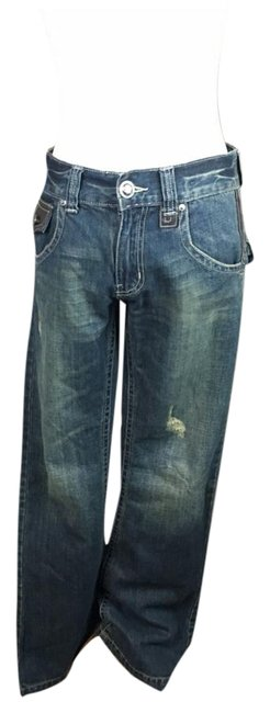 Guess Boot Cut Jeans-Distressed Image 0