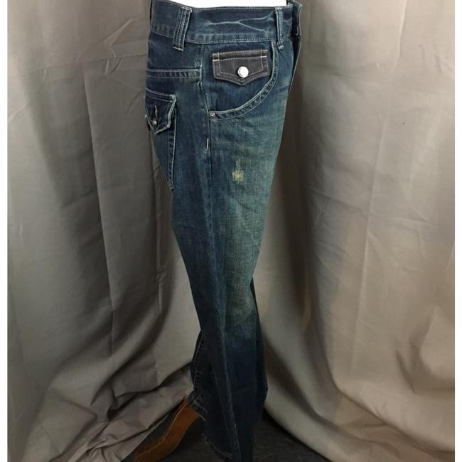 Guess Boot Cut Jeans-Distressed Image 2