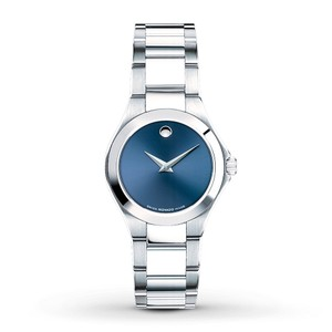 Movado Defio Stainless Sapphire Blue Dial 0606336