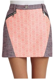 Rebecca Minkoff Mini Skirt Pink/Purple