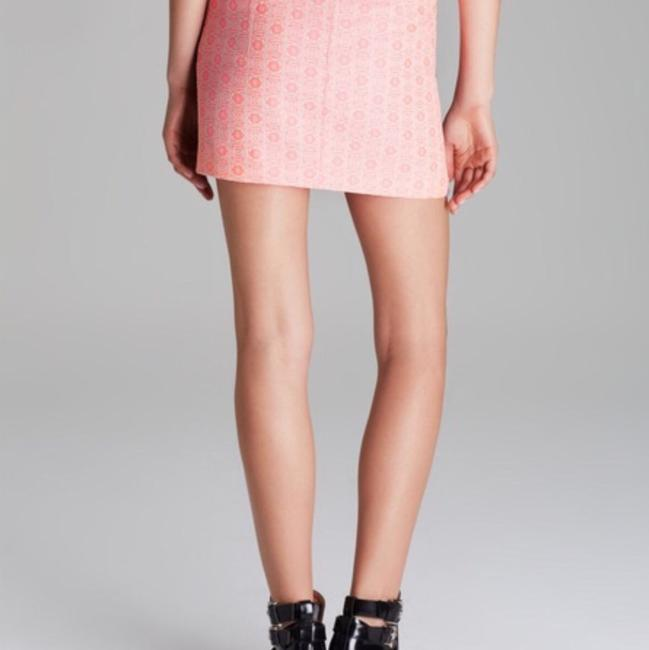 Rebecca Minkoff Mini Skirt Pink/Purple Image 2