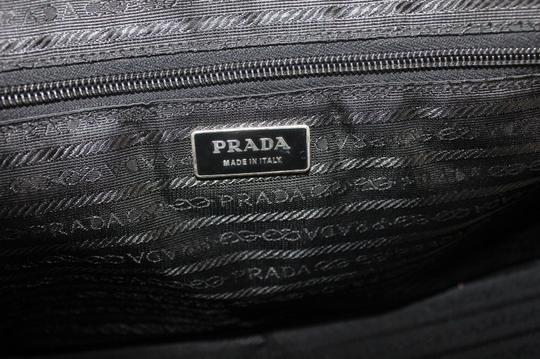 Prada Chrome Hardware Bowling Style Signature Piece Excellent Vintage Great Everyday Satchel in Purple Image 7