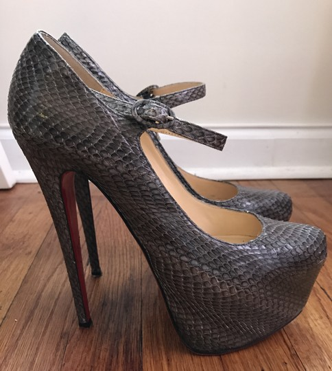 Christian Louboutin Grey Pumps Image 1