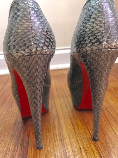 Christian Louboutin Grey Pumps Image 2