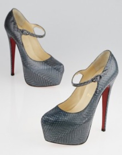 Christian Louboutin Grey Pumps Image 4