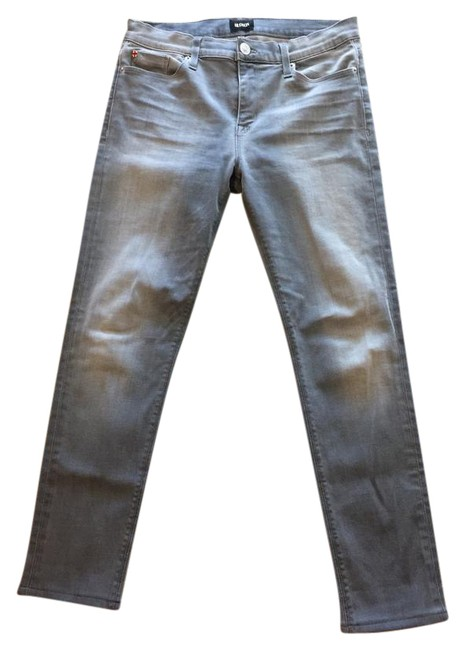 Item - Grey Light Wash Nico Midrise Super Skinny Jeans Size 29 (6, M)
