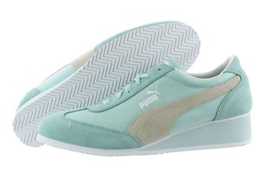 f50722841017 Puma Sporty Wedge Athleisure Vintage Preppy clearwater Athletic