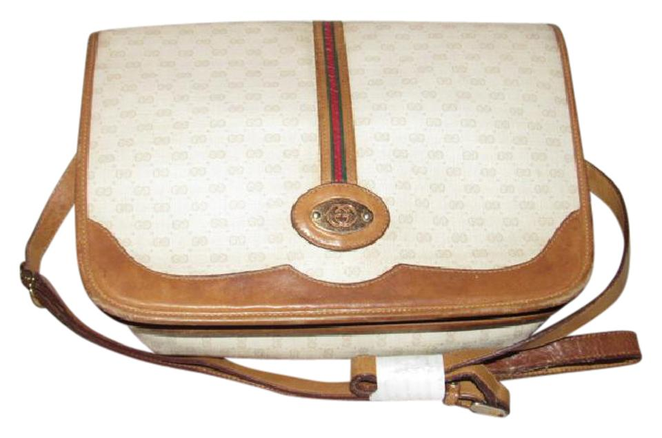 110e8680560 Gucci Shoulder Cross Gold Hardware Mint Vintage Popular Style Perfect  Everyday Cross Body Bag Image ...