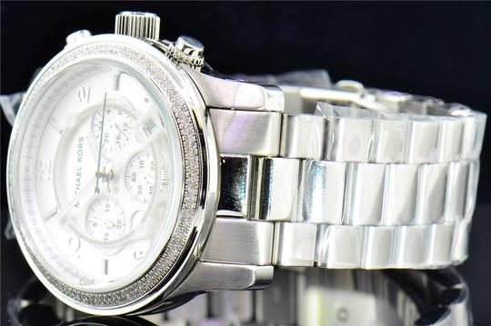 Michael Kors 1.5 Ct. Micheal Kors Mm Stainless Steel Watch With Custom Set Diamonds