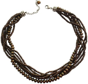 Honora Honora Cultured Bronze Pearl Necklace