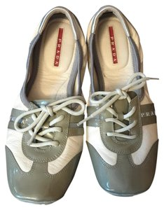Prada Gray and Ivory Athletic
