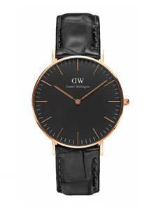 Daniel Wellington Daniel Wellington Reading 40mm Men's Steel Leather DW00100129 Watch