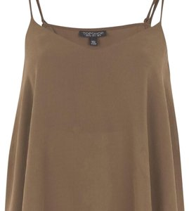 Topshop Top olive green