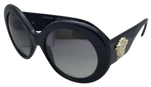 6bb61b628090 Versace New VERSACE Sunglasses VE 4298 GB1 11 55-20 Black Frame w