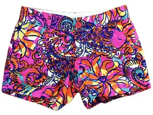 Lilly Pulitzer Shorts Sea and Be Seen Pattern