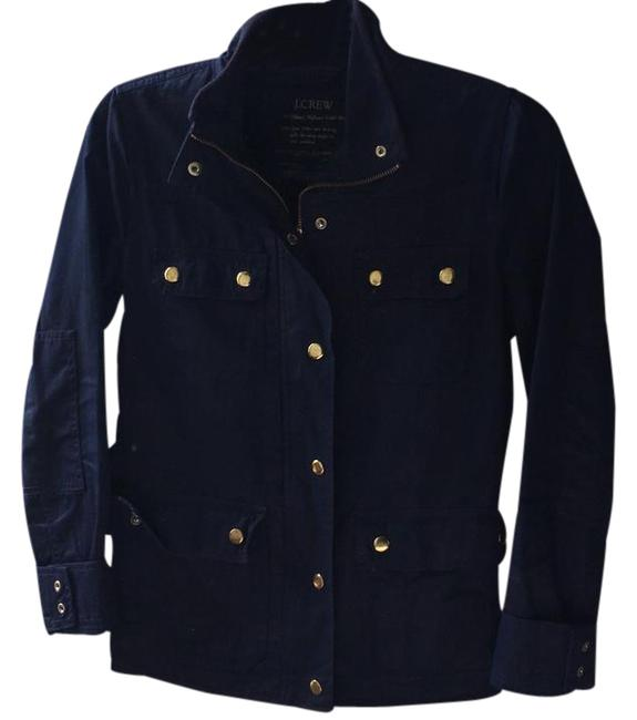 Preload https://img-static.tradesy.com/item/21473594/jcrew-navy-downtown-field-jacket-size-0-xs-0-1-650-650.jpg