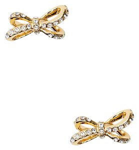 Kate Spade Gold Tied Up Pave Studs
