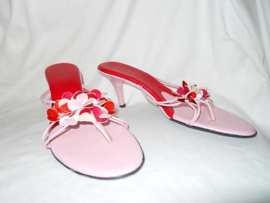 Charles by Charles David Mbc red & pink Sandals