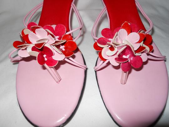 Charles by Charles David Mbc red & pink Sandals Image 3