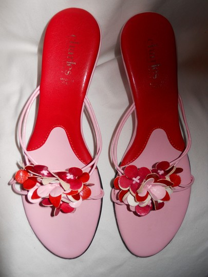 Charles by Charles David Mbc red & pink Sandals Image 4