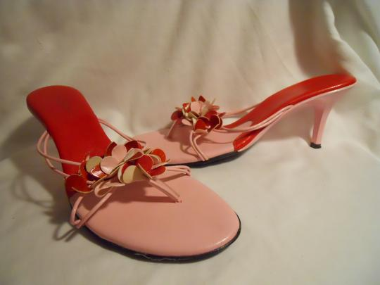 Charles by Charles David Mbc red & pink Sandals Image 9