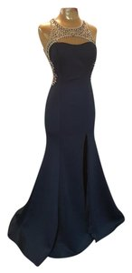 Val Stefani Evening Beaded Gown Dress