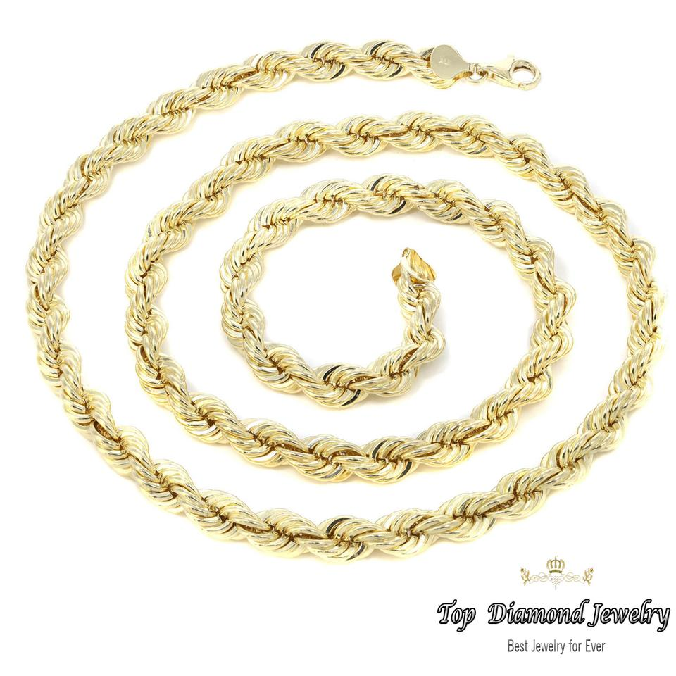 rope for jewelry gold plated chain item pendant necklace