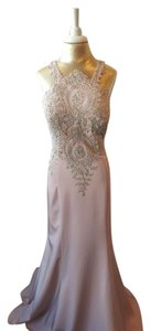 Val Stefani Embroidered Beaded Dress