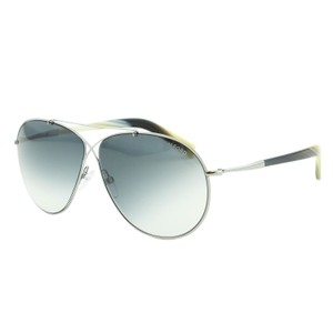 5ef4a5fe6761 Tom Ford Silver Eva Ft0374 Metal Cross Over Infiniti Pilot Sunglasses