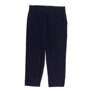 Eileen Fisher Trouser Pants Navy Viscose