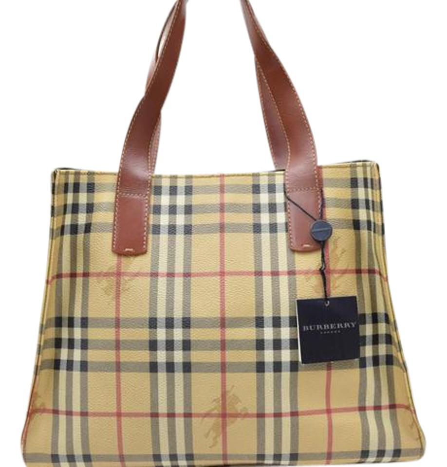 eca6d74286ce Burberry Mint Condition Perfect For Everyday Classic Roomy And Practical  Satchel in Brown leather Nova ...