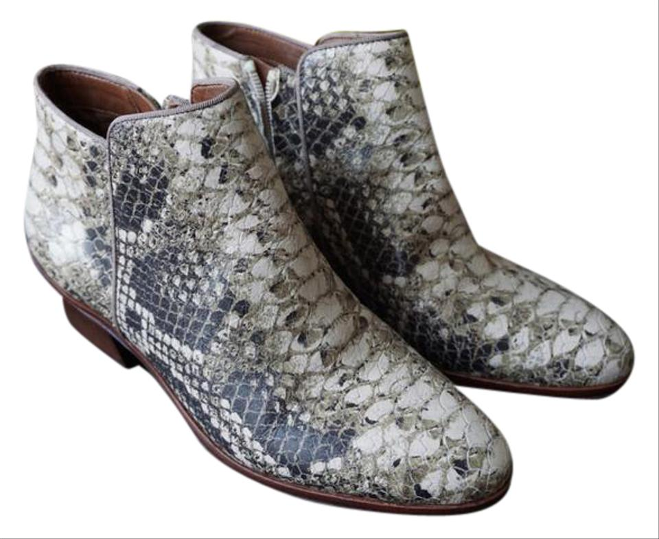5ec848ff5 Sam Edelman Croc Print Petty Ankle Boots Booties Size US 6 Regular ...