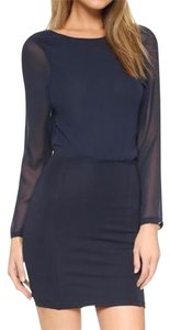 Bec & Bridge Becandbridge Club Reversible Navy Dress