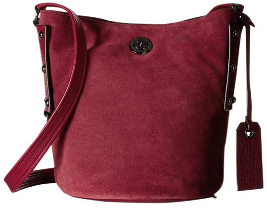 Preload https://img-static.tradesy.com/item/21474525/marc-by-marc-jacobs-c-lock-bucket-red-canyon-leather-and-suede-cross-body-bag-0-1-540-540.jpg