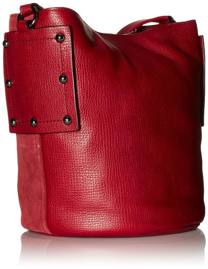 Marc by Marc Jacobs C Lock Leather & Suede Bucket 888877828824 M0007378 Cross Body Bag Image 1