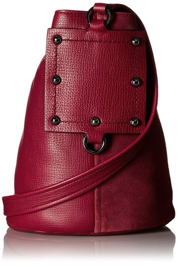 Marc by Marc Jacobs C Lock Leather & Suede Bucket 888877828824 M0007378 Cross Body Bag Image 2