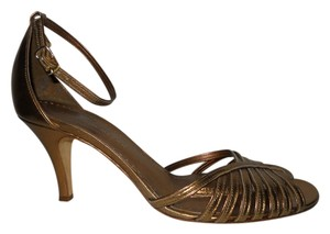Antonio Melani Leather Mbc copper/gold Sandals