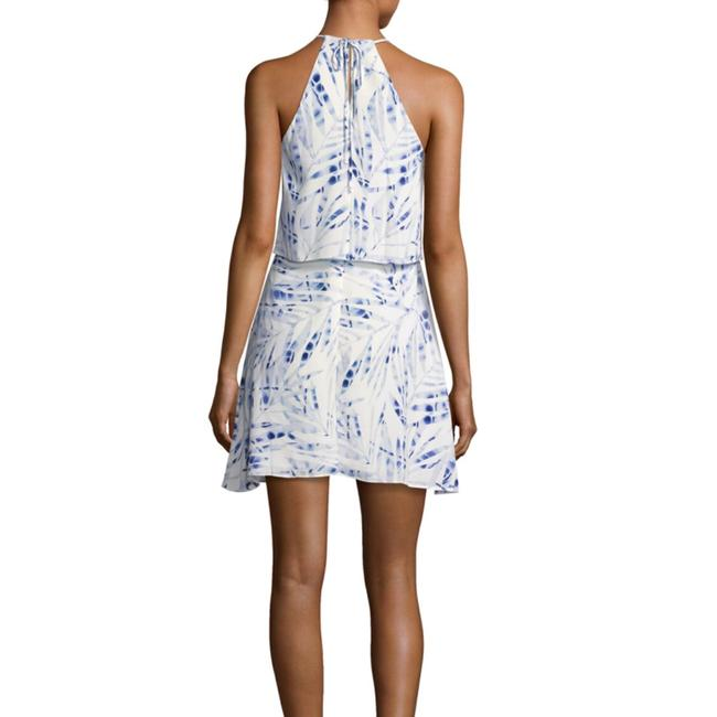 BCBGMAXAZRIA short dress blue / white Amanda Uprichard Alice Olivia Rebecca Taylor Dvf Tory Burch on Tradesy Image 1