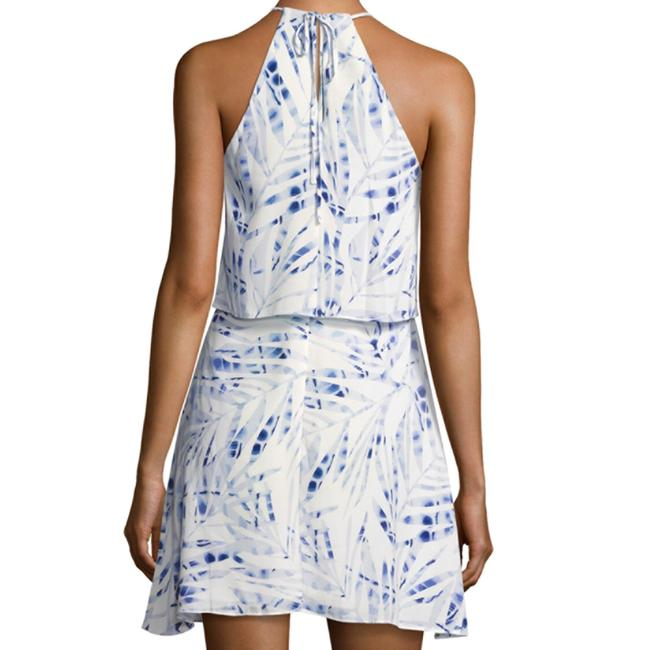 BCBGMAXAZRIA short dress blue / white Amanda Uprichard Alice Olivia Rebecca Taylor Dvf Tory Burch on Tradesy Image 2