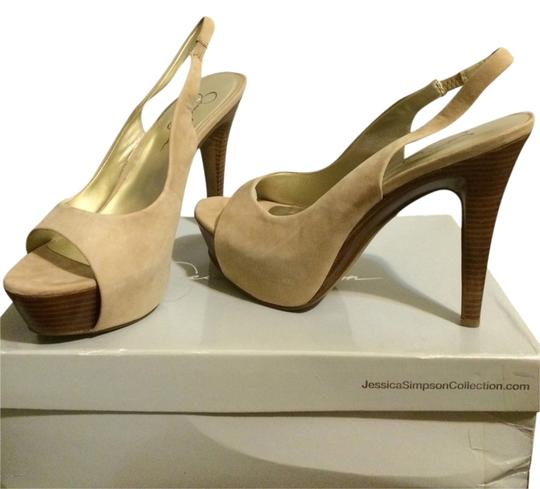 Preload https://item1.tradesy.com/images/jessica-simpson-nude-pumps-2147510-0-0.jpg?width=440&height=440